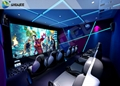 5D Cinema System Mobile Chair Set Up In Park Small Business Mini Cinema