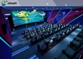 5D Theater System High Level Sound Equipment Professional Metal Screen