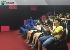 7D Cinema And 7D Movie Theater For Commercial Purposes ,Set Up In Shopping Mall