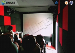 Interactive Game 7D Cinema System With Gun Shooting Effect , More Exciting
