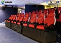 Modern Design 5D Theater System , 5D Cinema Seating With  Fiber Glass Material