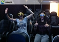 Electronic 4D Cinema System , 4D Motion Chair Surrounding Environment Simulation 4