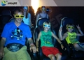 Electronic 4D Cinema System , 4D Motion Chair Surrounding Environment Simulation