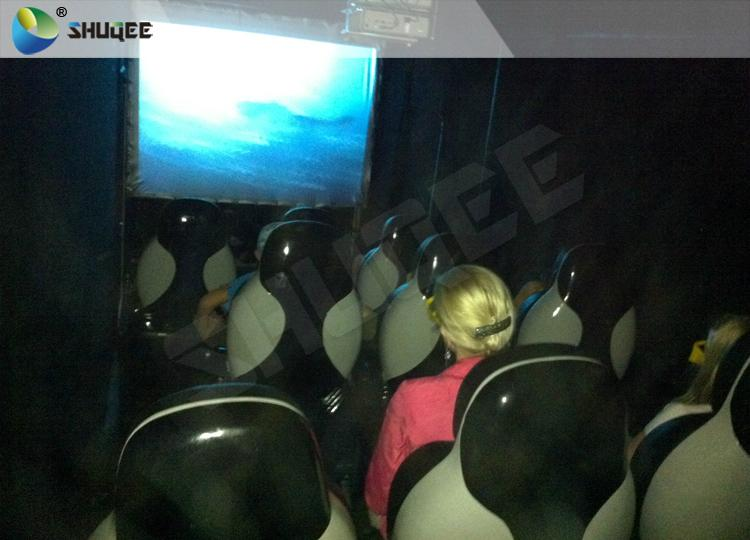 Electronic 4D Cinema System , 4D Motion Chair Surrounding Environment Simulation 7
