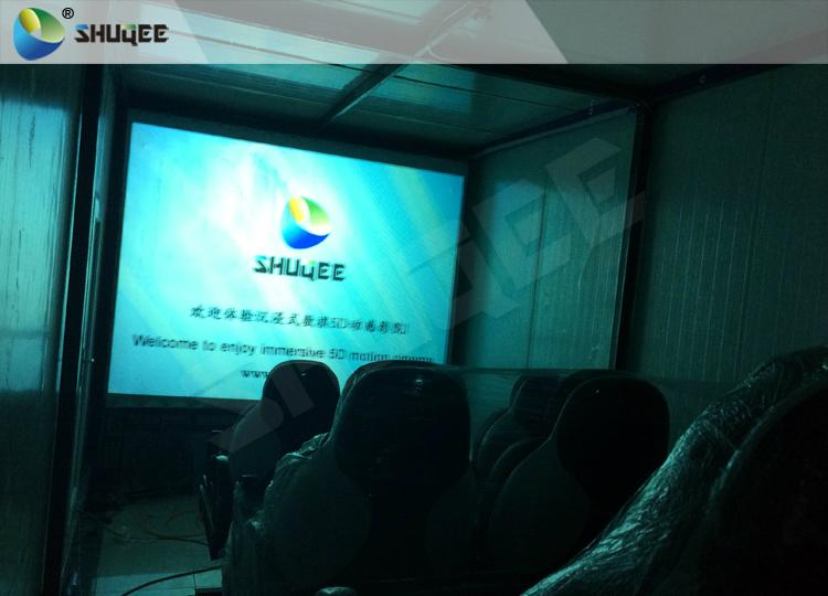 Electronic 4D Cinema System , 4D Motion Chair Surrounding Environment Simulation 14