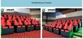 High Technology 5D Theater System , 5D Ride Cinema For Indoor Entertainment