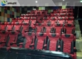 Commercial Theater, 4D Cinema Equipment With Movement Effect Luxury Seats