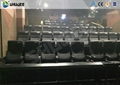 4D Movie Theater With Many Effects , Electric Motion Chair With Different Color