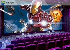 Electric Chairs System In 4D Cinema System , Customized Seats Number With 5 Effe