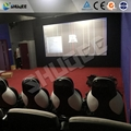 Game 7D Movie Theater With Motion Seats And Safe Package Used For Theme Park