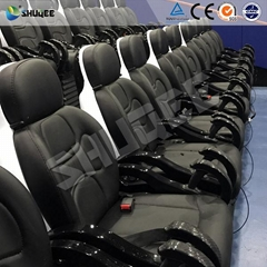 Six Rider Truck Mobile 5d Cinema System Genuine Leather + Fberglass Material