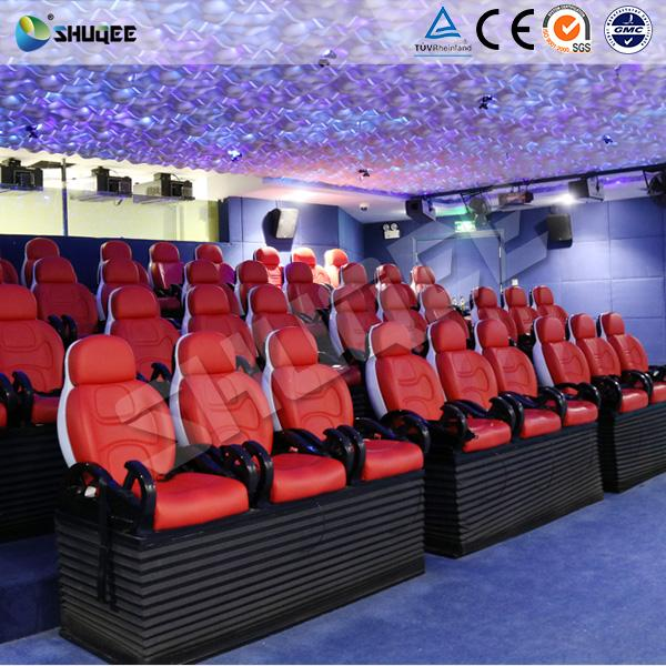 2018 Popular 5D Movie Theater Seats With Variety Of Environmental Effects 1