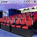 2018 Popular 5D Movie Theater Seats With Variety Of Environmental Effects