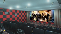 5 Seats / 4D Cinema System,Luxury Motion Seats With Spray Air And Vibration