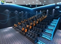 Smooth Seat Action 4D Cinema Equipment ,  With Vibration , Movement And Push bac