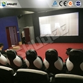 Home Cinema 7D Movie Theater With Shooting Game And 9 Luxury Seats For Center Pa