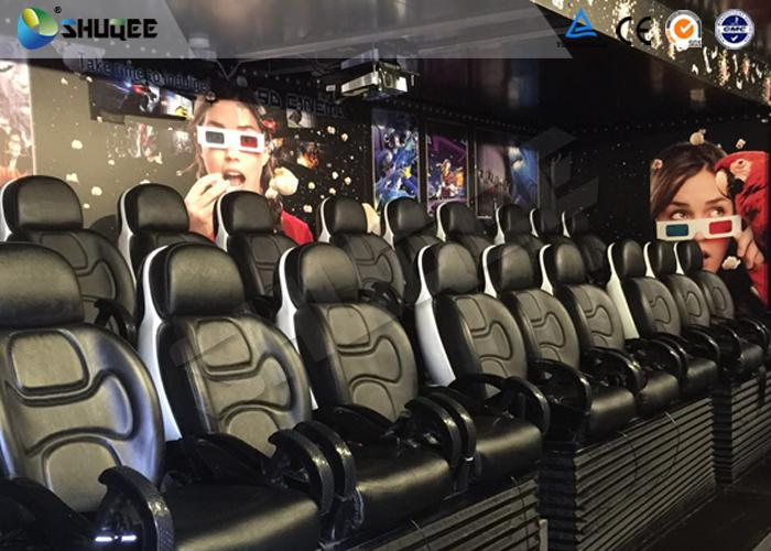 Mobile 5D Theater System 6 Seats With Economic 3 People / Set Chair On Truck 1