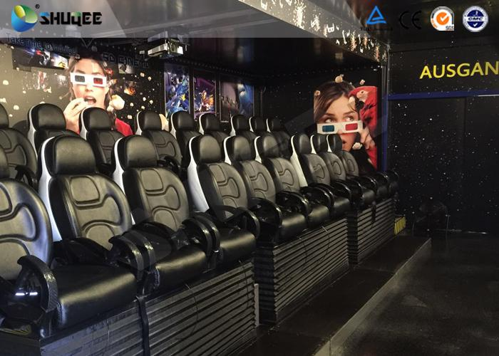 Mobile 5D Theater System 6 Seats With Economic 3 People / Set Chair On Truck 3