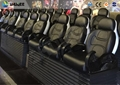 Mobile 5D Theater System 6 Seats With Economic 3 People / Set Chair On Truck
