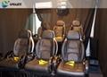 5D cinema system Genuine Leather VIP Home Cinema Theater 5D simulator