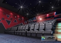 Electric 4D Cinema Seats For Commercial Theater With Several Special Effect And  4