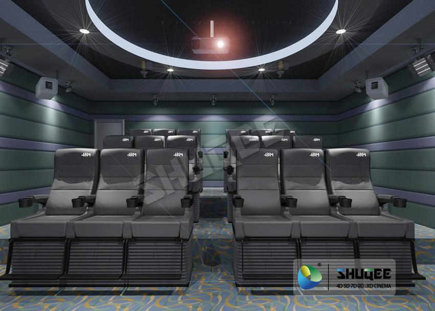 Wonderful Viewing Experience 4D Theater Equipment Seamless Compatibility With Ho 1