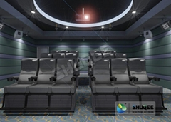 Wonderful Viewing Experience 4D Theater Equipment Seamless Compatibility With Ho