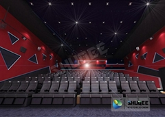 Upgrade Theater 10-120 Seats , 4D Luxury Chair Standard Motion Cinema Simulator