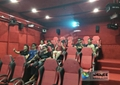 Cinema Chair 7D Movie Theater , Game Theater With Special Game Effect Chairs
