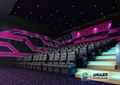 Comfortable 4D Cinema Saet With Many Effect And Pu Or Genuine Leather Seats