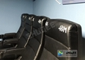Electric Motion  4D Movie Theater  Chair  for park and museum