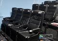 Electric 4D Chair , 4D Cinema System Witjh Wind, Lightning, Laser, Fog Effect