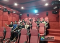 Complete 5d Home Cinema With Chairs