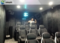 Pneumatic Mobile 5D Cinema With Snow, Bubble,Rain,Wind Effect,2 Years Warranty