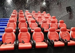 Truck Mobile 5D Cinema With Safe Package ,6-12 Seats With Control system