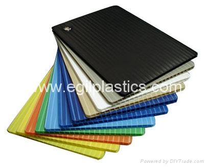 Flame Retardant Corflute Corrugated Plastic Sheet China