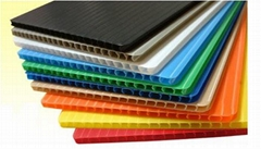 Flame Retardant Corflute Corrugated Plastic Sheet