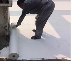 金屬屋面防水材料廠家直銷縫織聚酯布 彩鋼瓦屋面用聚酯布