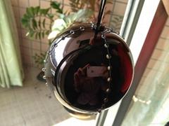 LED snowball ornament
