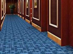 无锡手工地毯KTV地毯红色展会地毯