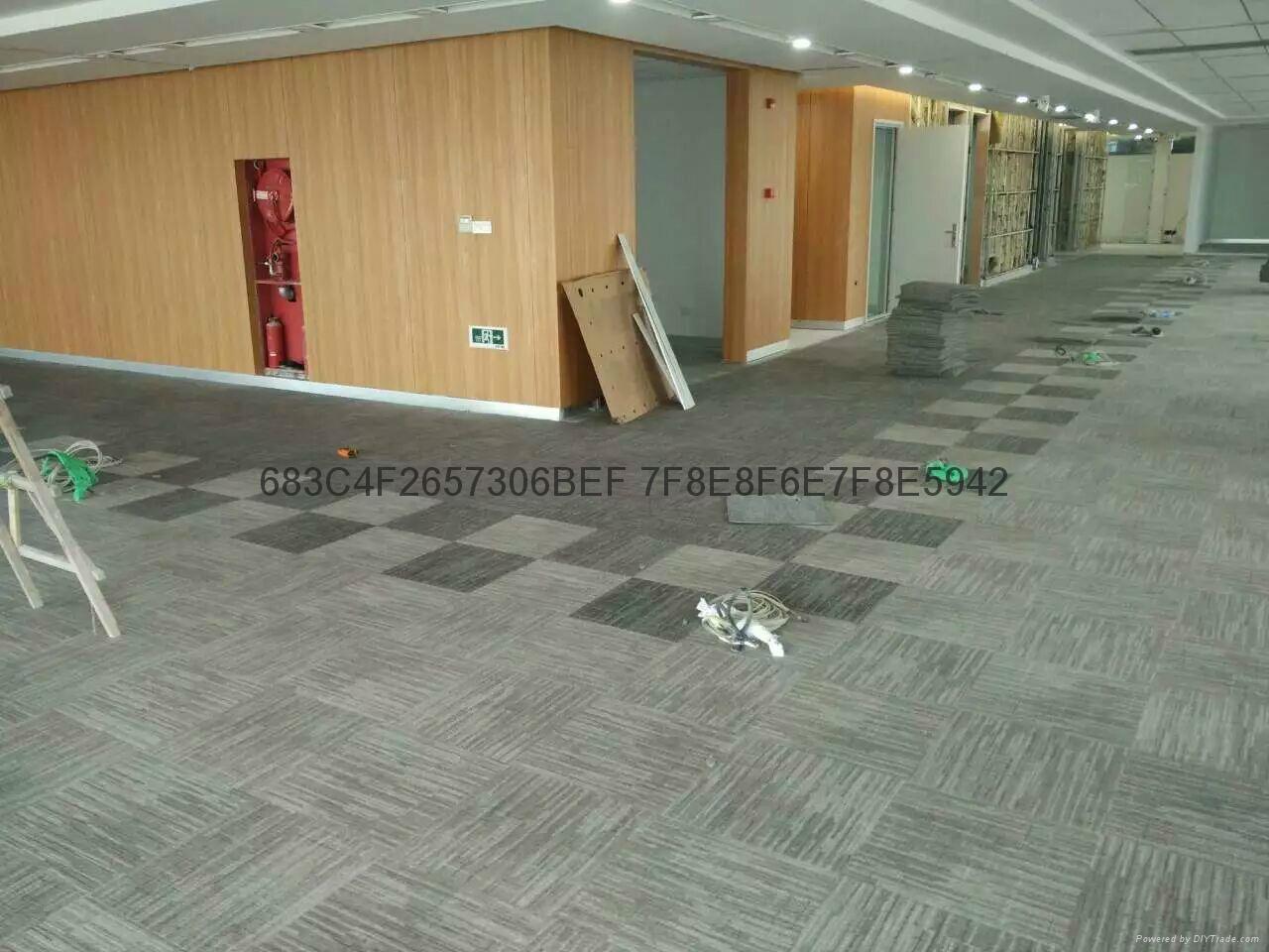 无锡地毯厂家办公地毯宾馆商务地毯 5