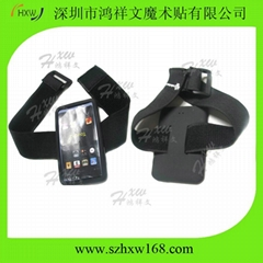 Elastic velcro armband