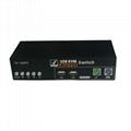 4口 USB KVM自动切换器