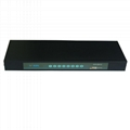 8 Port auto USB KVM Switch Rack-mount