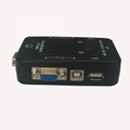 2 口 USB KVM 手动切