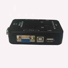 2 口 USB KVM 手动切换器(塑壳kvm switch