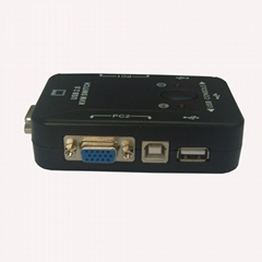2 口 USB KVM 手動切換器(塑殼kvm switch