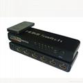 厂家直销5进1出HDMI 切换器带遥控, HDMI 选择器