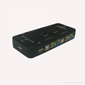 4 Port USB Manual KVM switcher