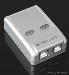 USB Sharing Switch 2 Port plsatic usb hub